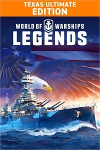 Carátula para el juego World of Warships: Legends. Ultimate Texas de Xbox 360