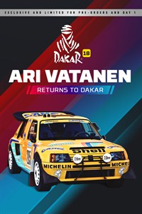 Ari Vatanen returns to Dakar!