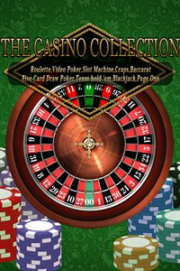 THE CASINO COLLECTION: Ruleta, Vídeo Póker, Tragaperras, Craps, Baccarat, Five-Card Draw Poker, Texas hold 'em, Blackjack and Page One