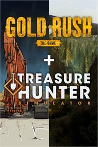 Simulator Pack: Treasure Hunter Simulator and Gold Rush: The Game (DOUBLE BUNDLE)