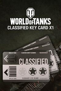 World of Tanks - Classified Key Card