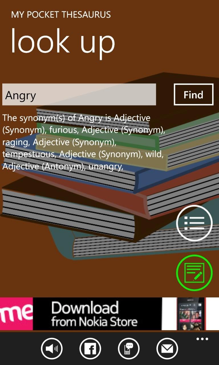 My Pocket Thesaurus