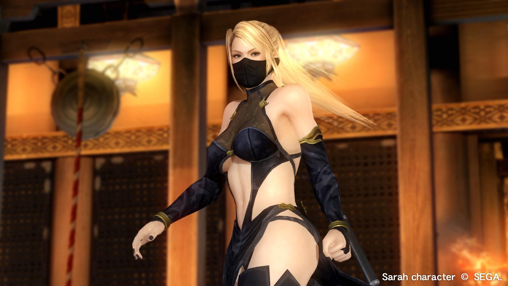 DOA5LR: Clã Ninja 3 - Sarah