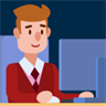 Office Life Routine - Career Simulator Strategy, manager game. Idle Office Quest