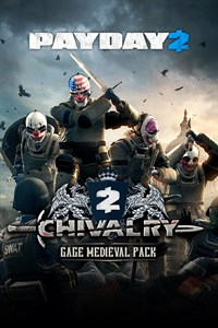PAYDAY 2: CRIMEWAVE EDITION - The Gage Chivalry Pack