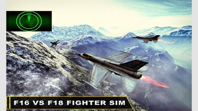 Get F18vF16 Fighter Jet Simulator - Microsoft Store