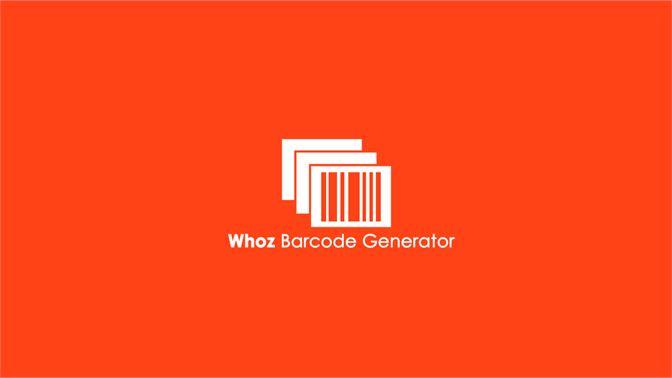 Get Whoz Barcode Generator - Microsoft Store