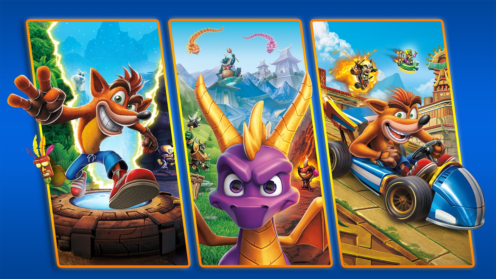 Image result for crash spyro bundle