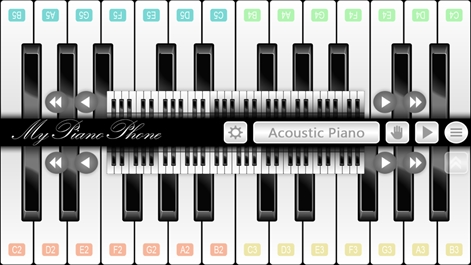 My Piano Phone Screenshot