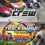 The Crew and Trackmania Turbo Logo