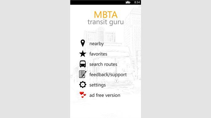 Get MBTA Transit Guru - Microsoft Store