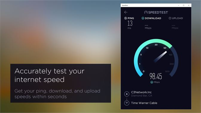 Get Speedtest by Ookla - Microsoft Store