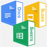 Docs for Google - Documents, Presentations, Spreadsheets for Online Docs, Slides and Sheets Logo