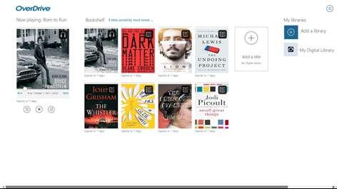 OverDrive - Library eBooks & Audiobooks Screenshots 1