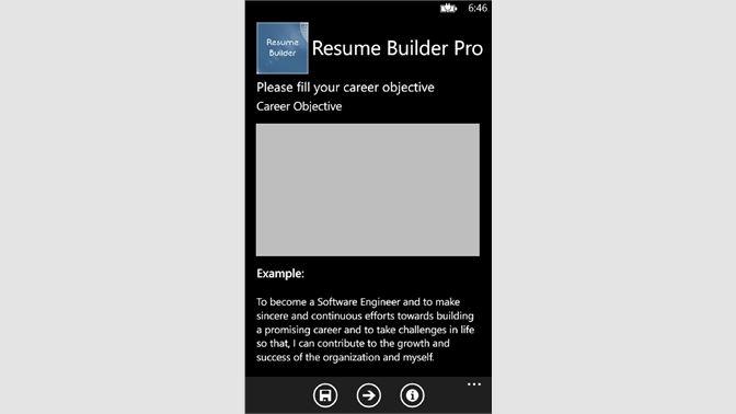 Get ResumeBuilder - Microsoft Store
