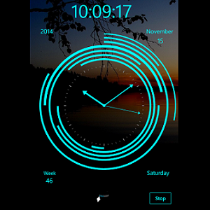 Modern Clock XXIII