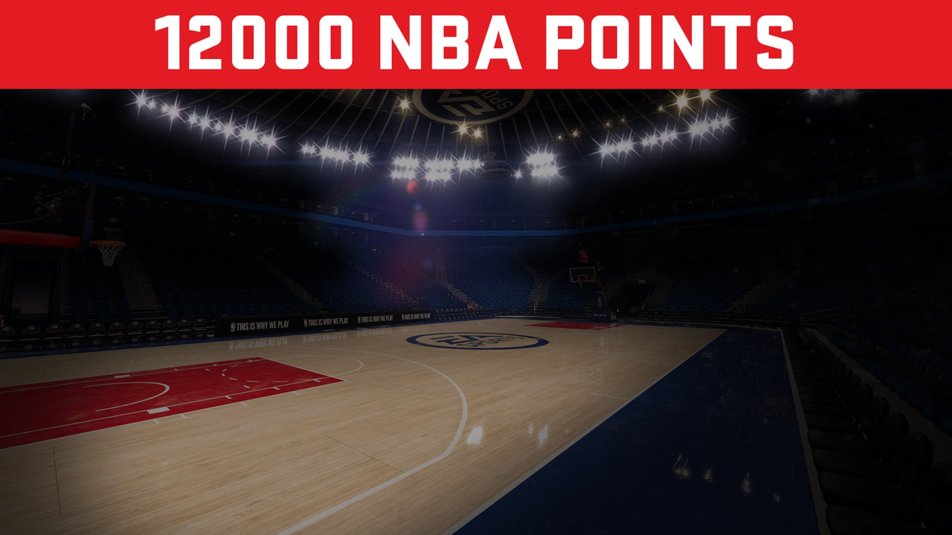 EA SPORTS™ NBA LIVE 18 ULTIMATE TEAM™ - 12000 PONTOS DA NBA