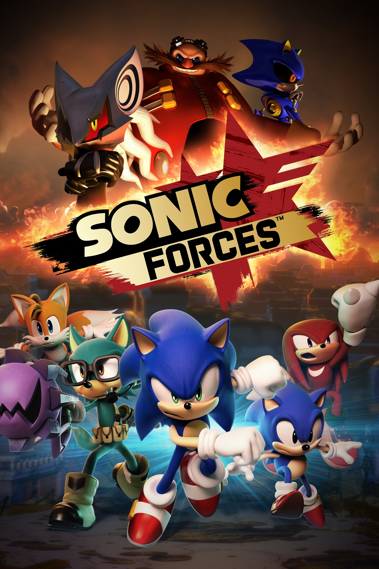 Buy Sonic Forces Digital Standard Edition Microsoft Store