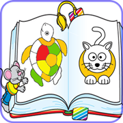 kids painting book