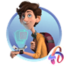 Spies in Disguise Art Games