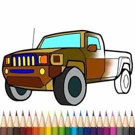 Recevoir Cars Coloring Book
