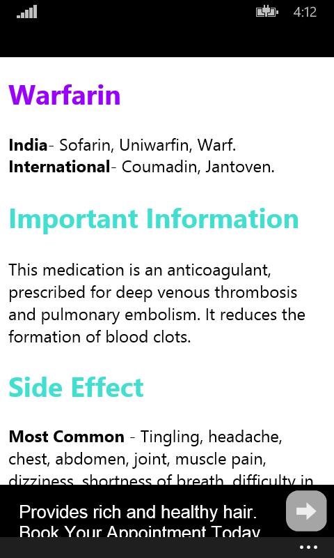Drug Info