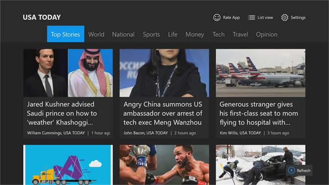 Get News Reader for USA TODAY - Microsoft Store