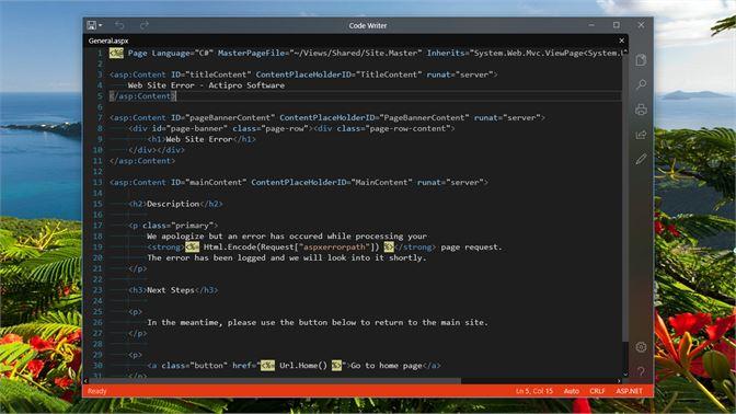 Get Code Writer - Microsoft Store