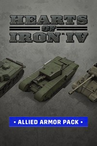 Hearts Of Iron IV: Allied Armor Pack Download