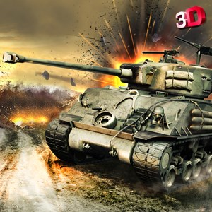 Get Tank Battle 3D - Heavy Fury Tank Duty in World War