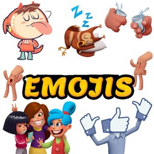 Emojis :) For SMS & Social Messaging Apps