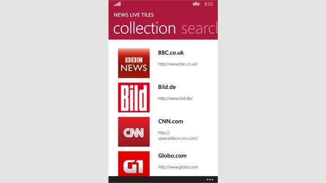 Get News Live Tiles - Microsoft Store