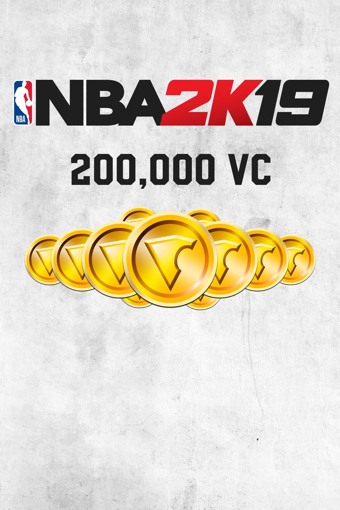 Buy NBA 2K19 200,000 VC - Microsoft Store