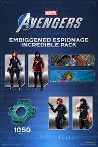 Marvel's Avengers Espionnage et agrandissement - Pack incroyable