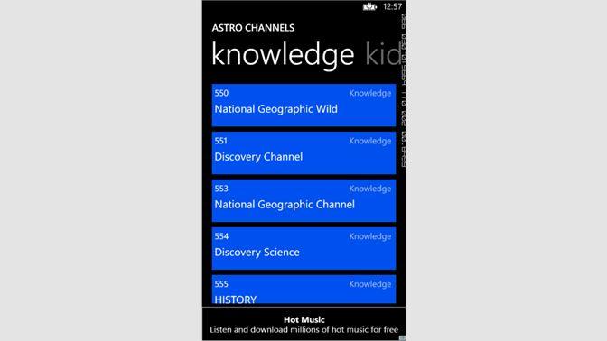 Get My TV Schedule - Microsoft Store
