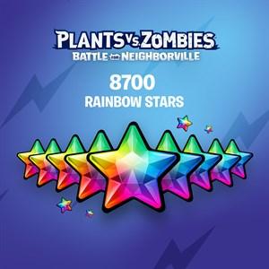 Plants vs. Zombies: Battle for Neighborville™ – 7500 (+1200 Bonus) Rainbow Stars Xbox One