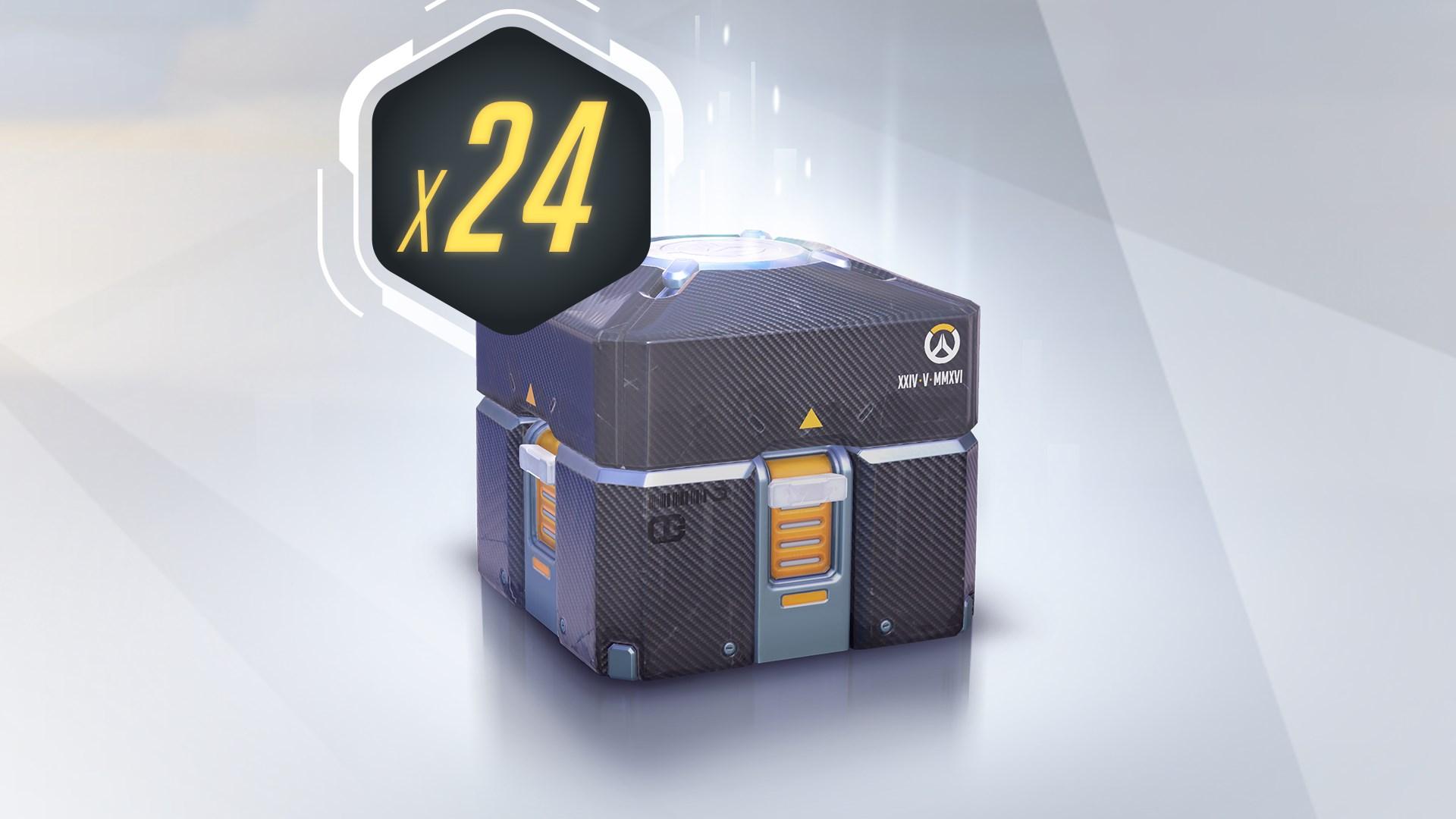 Overwatch®: 24 Forzieri Celebrativi