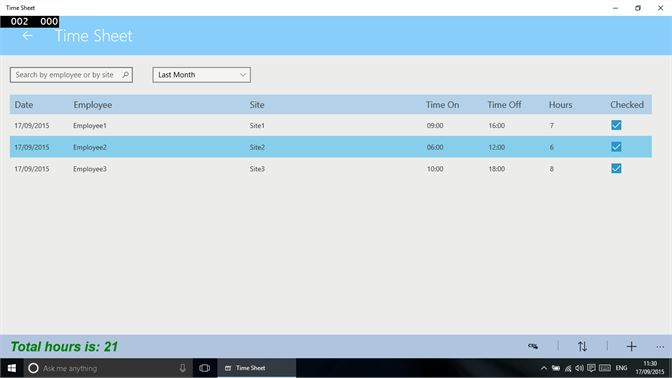 buy timesheet tracking microsoft store