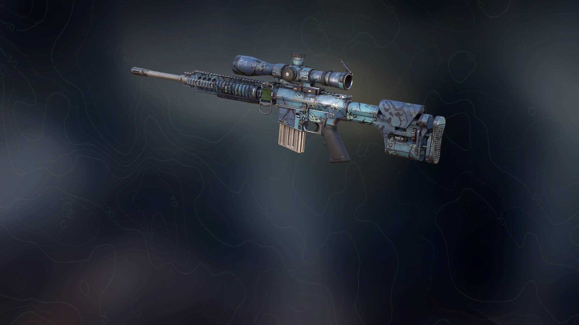 Weapon skin - Hexagon Ice
