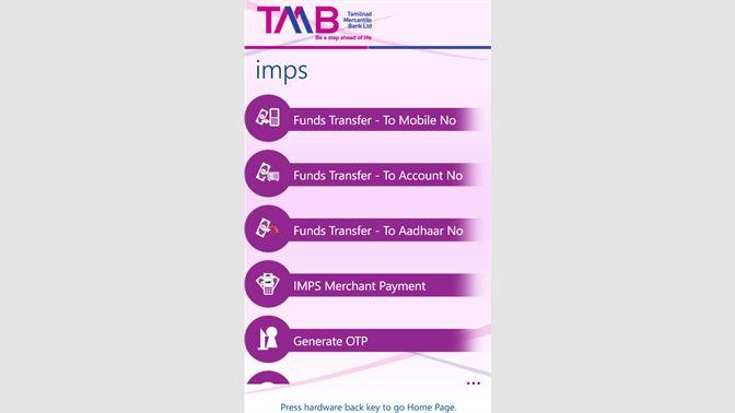 Get TMB mConnect - Microsoft Store en-IN