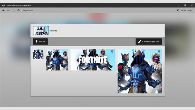 Buy Epic Games Tiles - Microsoft Store