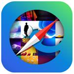 Backgrounds for Microsoft Edge Logo