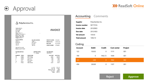 Get ReadSoft Online Approve Microsoft Store - What's a invoice online stores accept checks