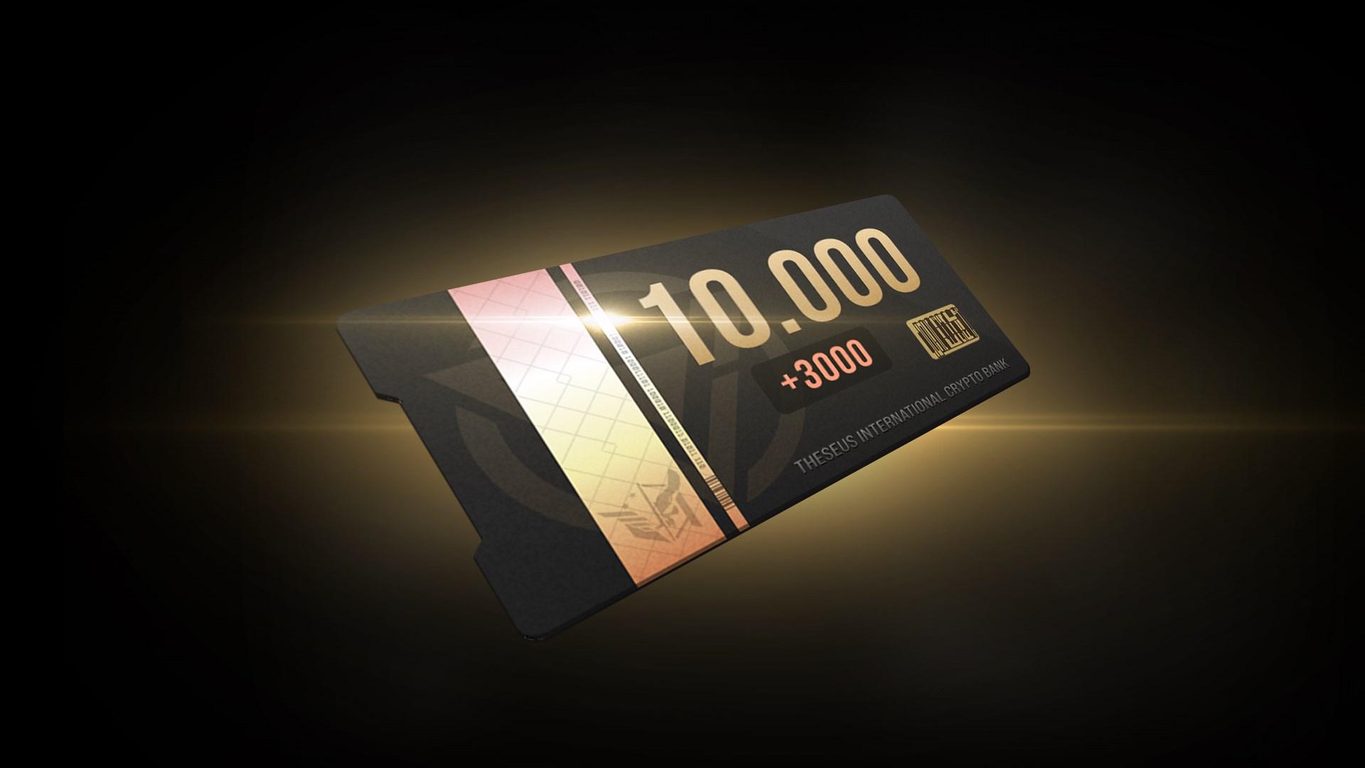 10000 Coins (+3000 bonus)