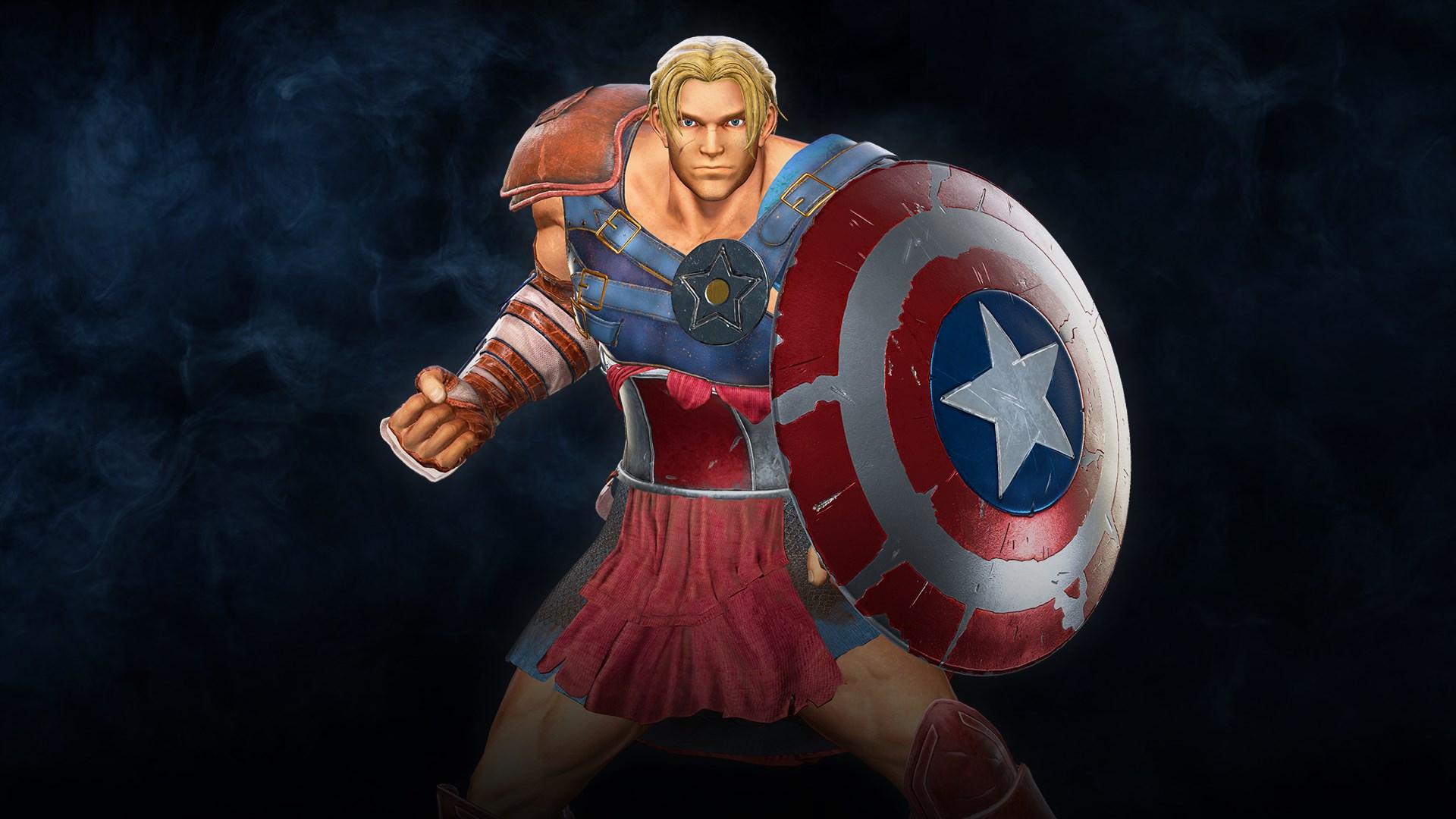 Marvel vs. Capcom: Infinite- Captain America Gladiator Costume