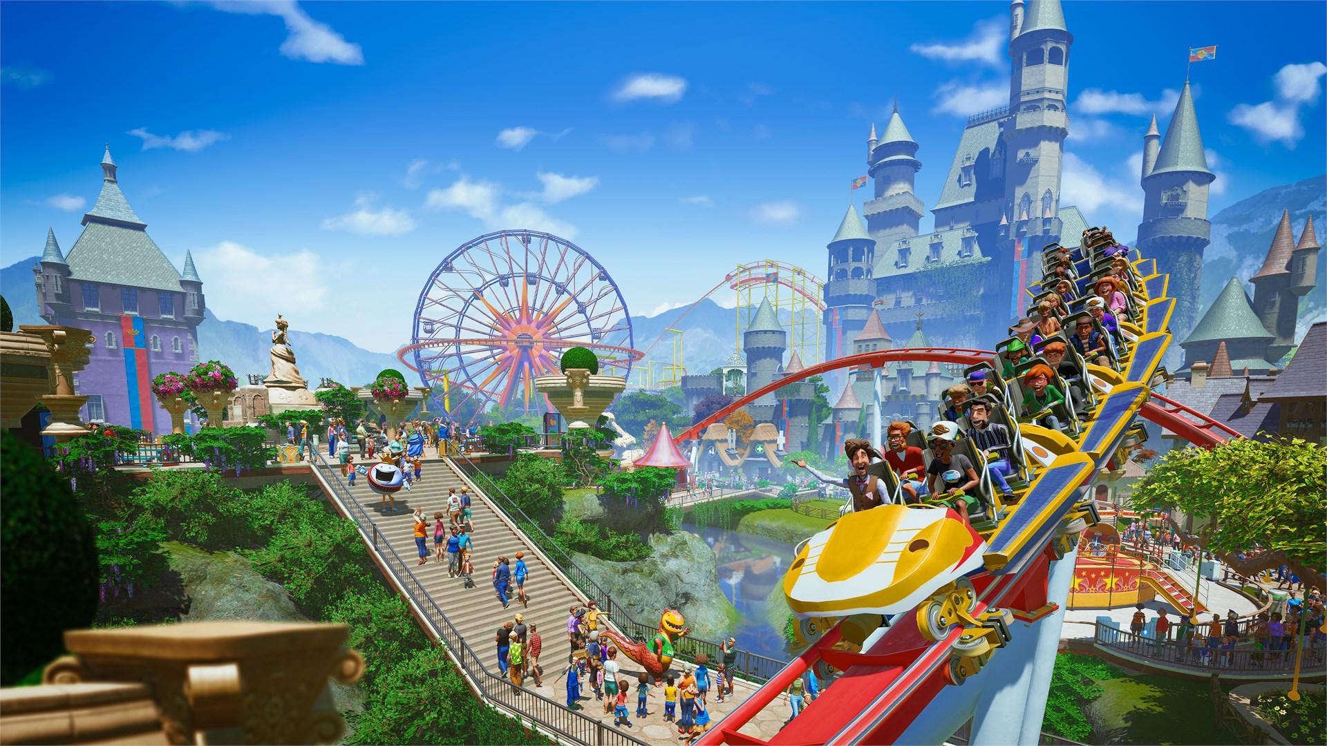 Planet Coaster: Комплект «Ужасы и приключения»