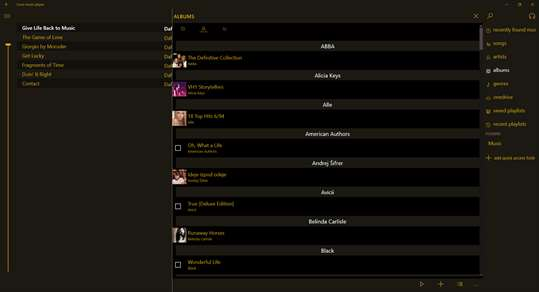 Loco music player screenshot 3