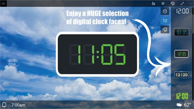 Get Alarm Clock HD + - Microsoft Store