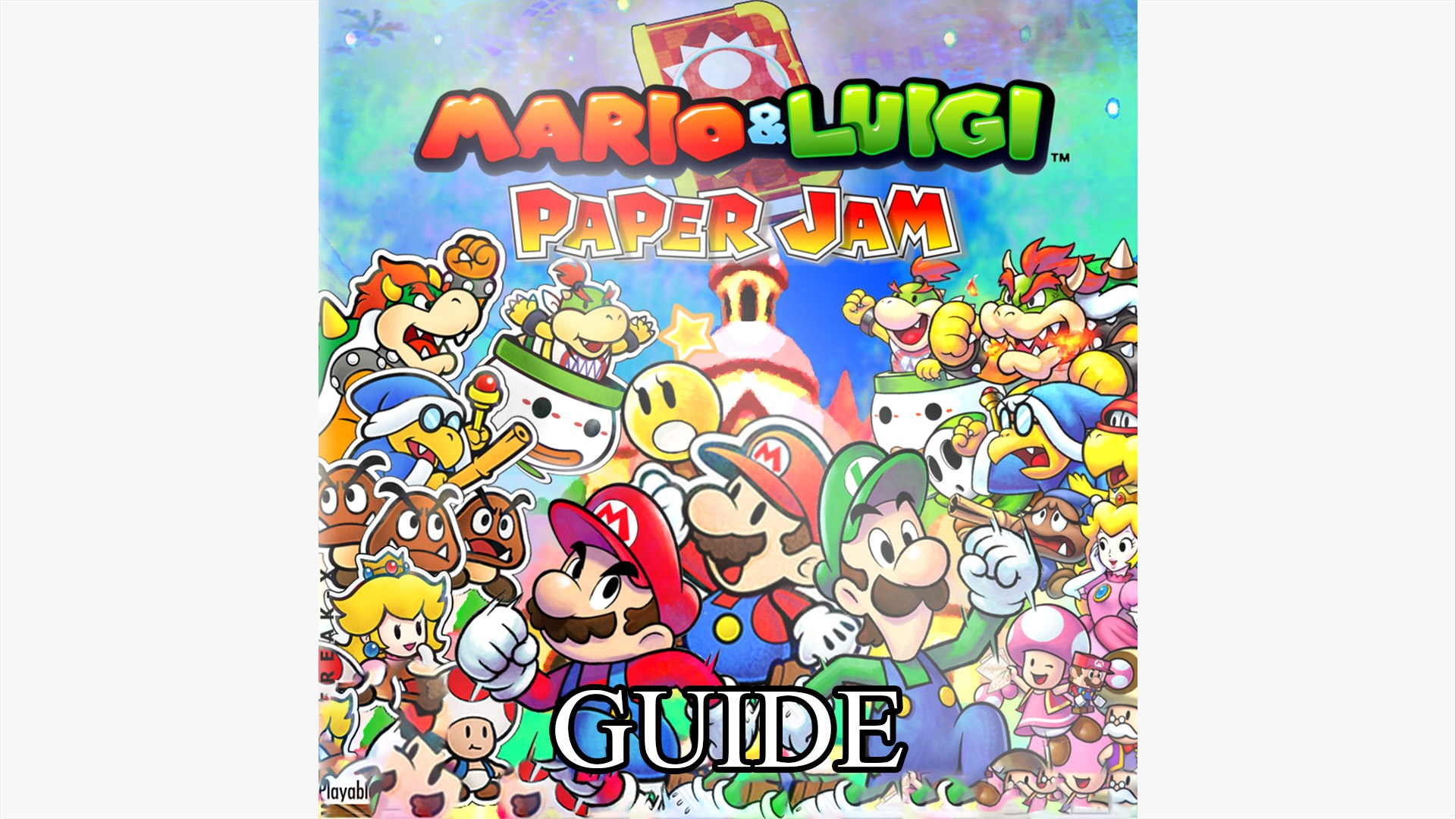 Buy Mario Luigi Paper Jam Game Video Guide Microsoft Store En Sc