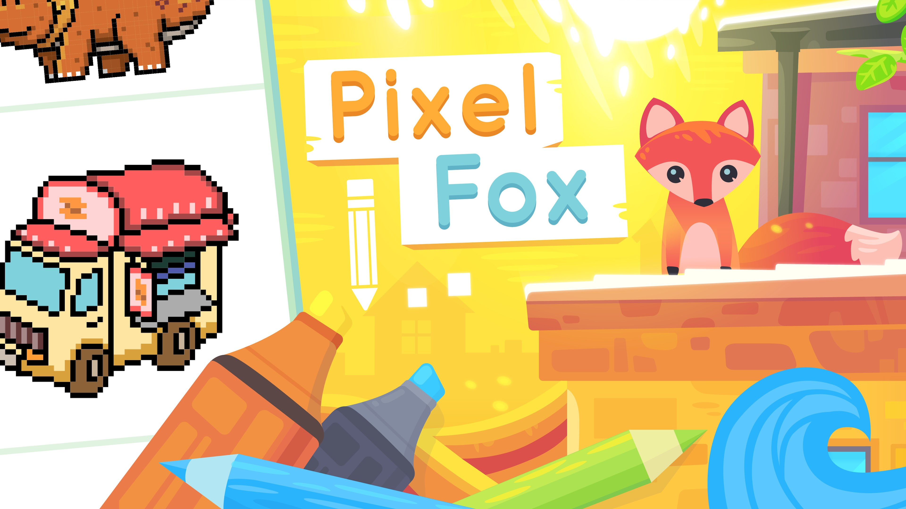 - Get Pixel Fox : Color By Number Family Coloring Book - Microsoft